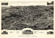 Anniston 1887 Bird's Eye View 17x24, Anniston 1887 Bird's Eye View